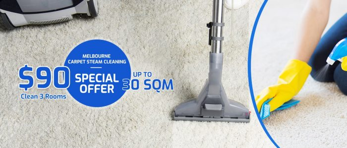 Affordable Carpet steam cleaning Melbourne at pocket-friendly rates